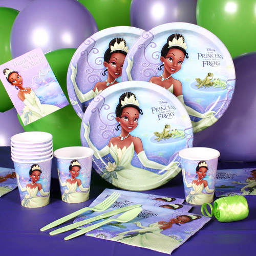 Princess & the Frog Party Pack for 8
