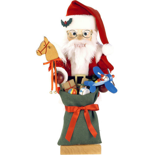 Christian Ulbricht Santa and Toys Nutcracker