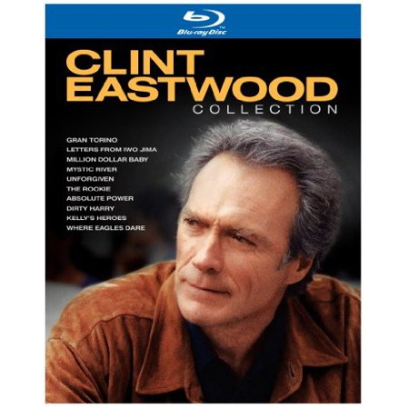 Clint Eastwood Collection  10 Discs   Collectors Edition   Blu Ray