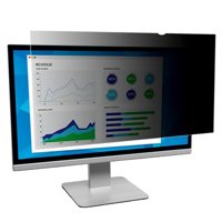 """3M 24"""" 16:10 Privacy Filter for Widescreen Monitor, Black"""