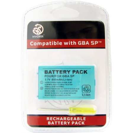 Game Boy Advance SP / GBA SP Replacement Battery Pack Game Boy Colored Battery