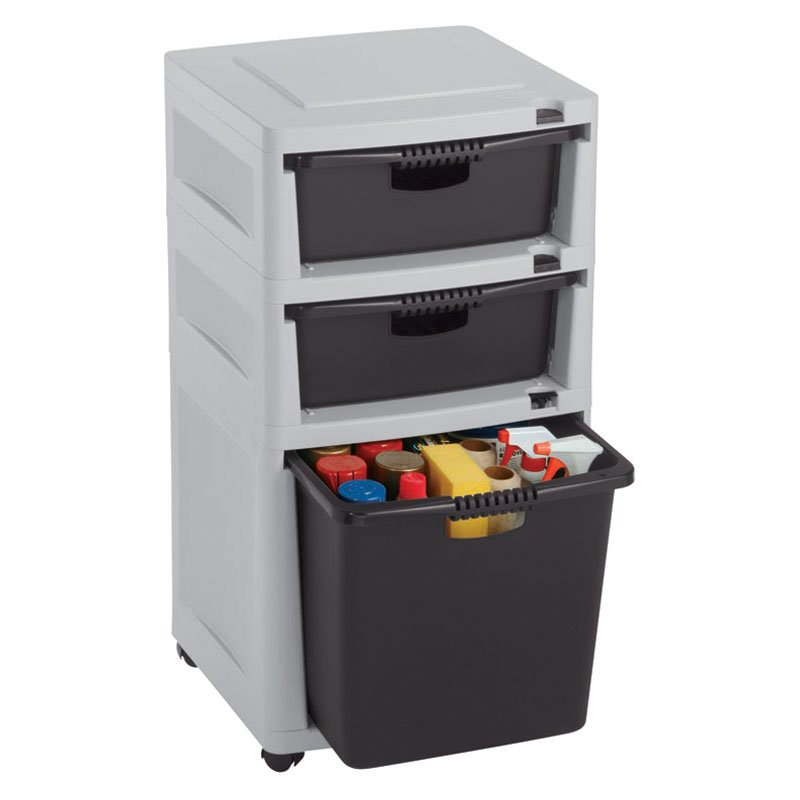 Suncast 3 Drawer Utility Tower