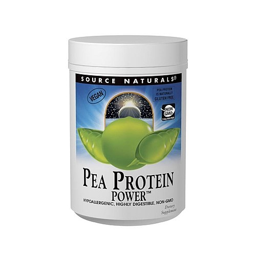 Source Naturals Pea Protein Power, Unflavored, 16 Oz