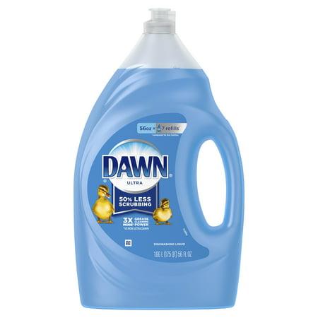 Dawn Ultra Dishwashing Liquid Dish Soap Original Scent, 56 fl