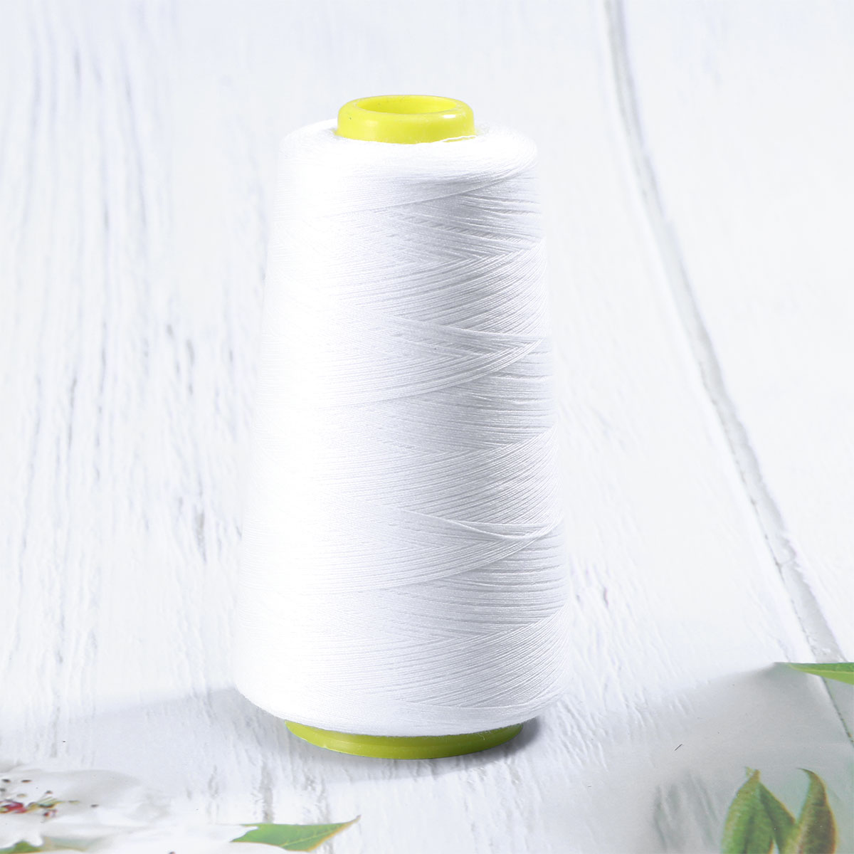 HEALLILY 3000 Yards Overlock Sewing Thread,Thread Polyester Spools for Serger Sewing Machine Beading Drapery