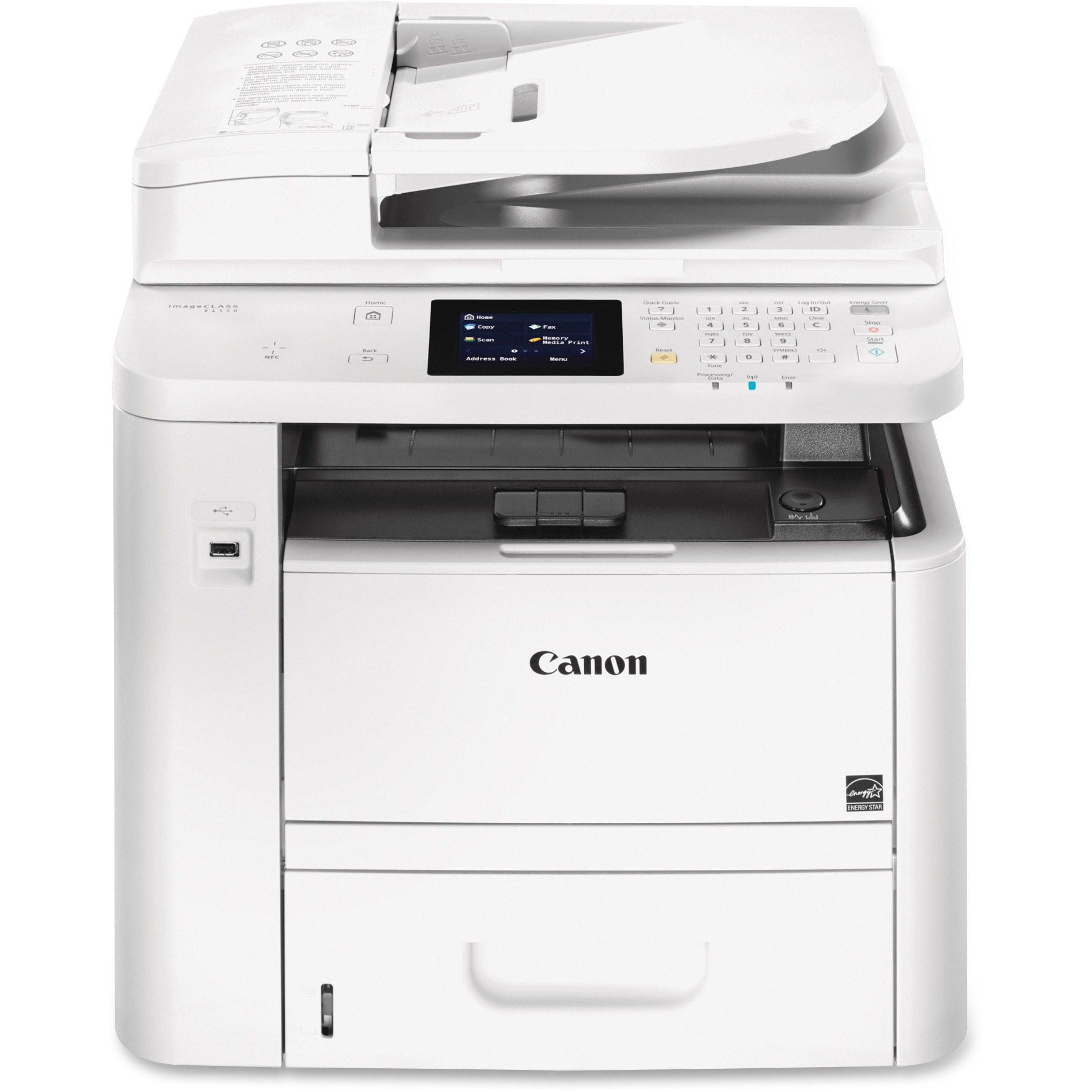Canon iMageClass D1550 4-in-1 Multifunction Laser Copier, Copy Fax Print Scan by Canon