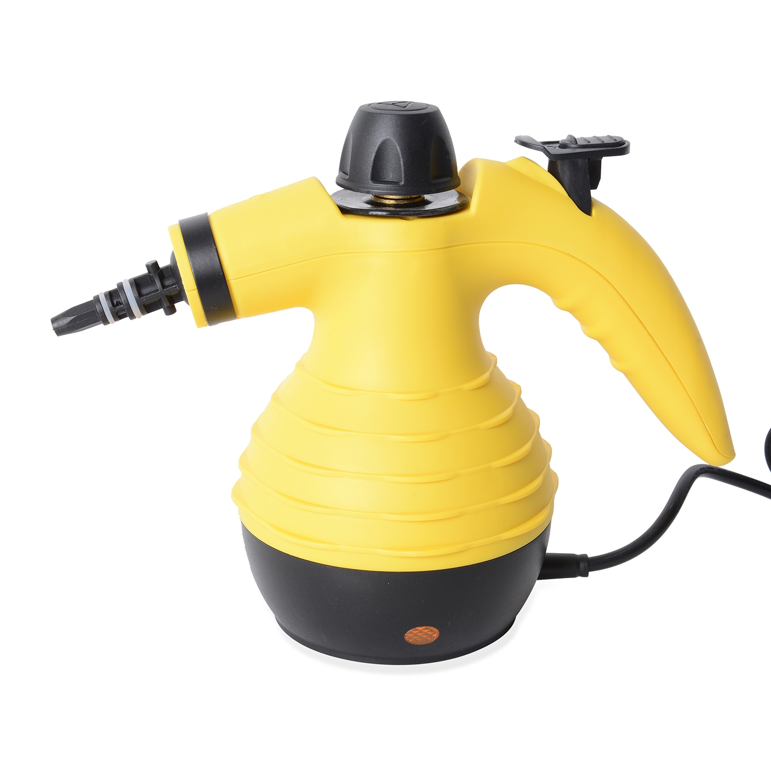 Homesmart Handheld Pressurized 9 in 1 Steam Cleaner for Cleaning Mopping Yellow