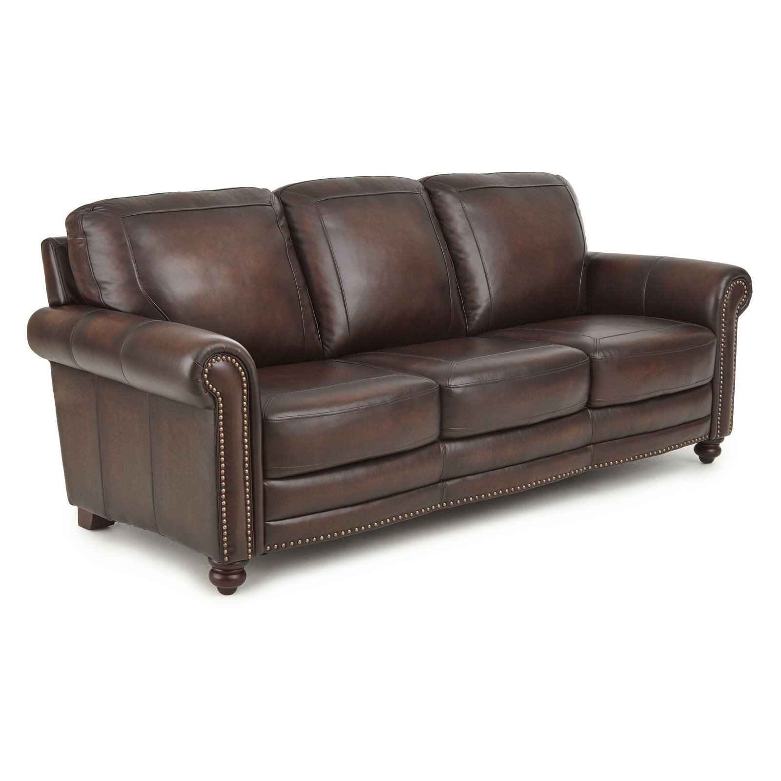 Steve Silver Co. Ellington Leather Sofa
