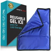 Gel Cold & Hot Pack Wrap  11x14 in. Reusable Warm or Ice Pack for Injuries, Hip, Shoulder, Knee, Back Pain  Hot & Cold Compress for Swelling, Bruises, Surgery - Heat & Cold Therapy