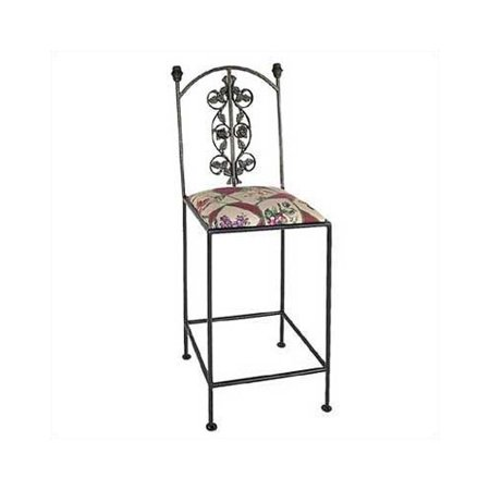 Grace Collection Rose 18 Bar Stool