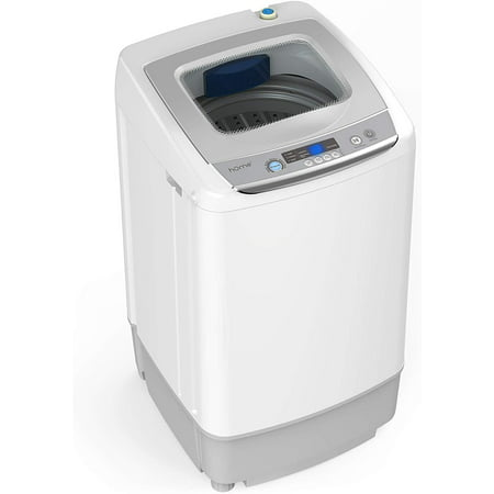 hOmeLabs 0.9 Cu. Ft. Portable Washing Machine - 6 Pound Capacity, Top  Loading, 5 Wash Cycles, 3 Water Level Selections and LED Display - Perfect  for ...