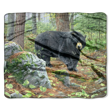 "American Heritage, ""Northern Realm"" Throw Blanket, 50""x 60"""