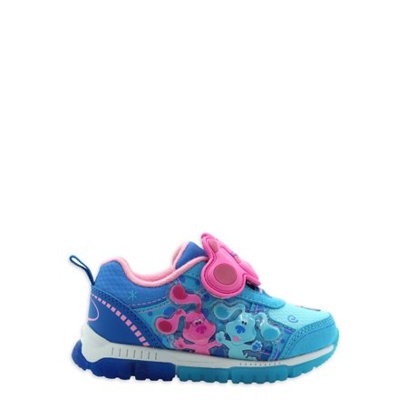 Blues Clues White Lights Athletic Sneaker (Toddler Girls)