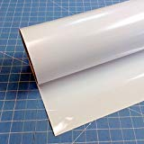 "White Siser Easyweed 12"" x 20' (feet) Iron on Heat Transfer Vinyl Roll HTV"