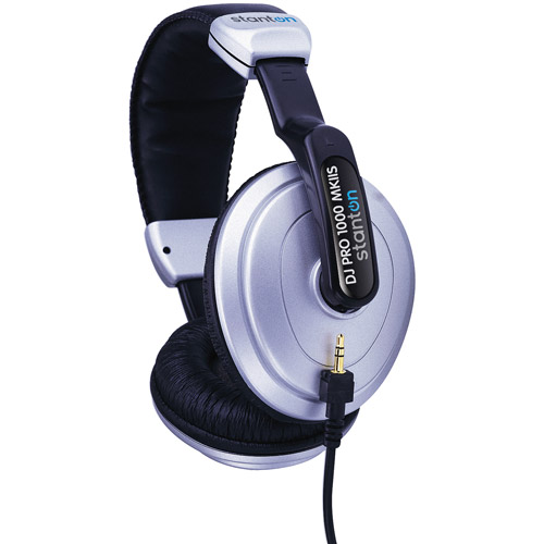 Stanton DJ Pro 1000 MKII-S Headphones with Carry Bag