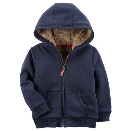 Carter Sweatshirt - Carters F17 navy lined hoodie