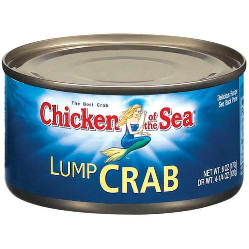 Chicken Of The Sea Lump Crab, 6 oz