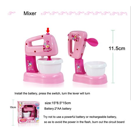 Siaonvr Baby Kid Developmental Educational Pretend Play Home Appliances Kitchen Toy Gift Baby Kid Developmental Educational Pretend Play Home Appliances Kitchen Toy GiftProduct DetailMaterial: ABS Plastic (safe, durable, non-toxic, tasteless)Theme: Home Appliances ToysFit For Age: 3-7 years oldNote: Packing With Original Box. We well put it in the package with extra thick ,  shockproof,waterproof, and guarantee the items safe complete to reach you.Due to different batches,the dark and light color maybe a little different with the picture.Feature:It a popular toy. The toy allow your child to express himself, be creative, and make choices,can be used in many different positions and different kinds of play.Provide a chance for you  or other children to be involved and will build social skills.Will the toy engage your child in activities that indicate the child's developmental age and  growth, t reflect the child's interests!It is safe, durable, considering your child's age and strength. Bright vivid colors, non-toxic, tasteless, environmentalWith educational toys, a great way for you to relax and enjoy your child's company.with educational toys, you can follow, supervise and direct your child's development, and  find great thrill and amusement in their playtime activityPackage Included:1x Home Appliances Toys (Package Included: 1x Home Appliances Toys (Battery is not included,please use the common # 5 ones ,dont use Nanfu Shusnglu Jinbawang in case it broke the items)