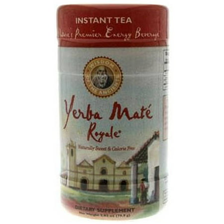 Wisdom Of The Ancients Yerbamate Royale Instant Tea  2 82 Oz