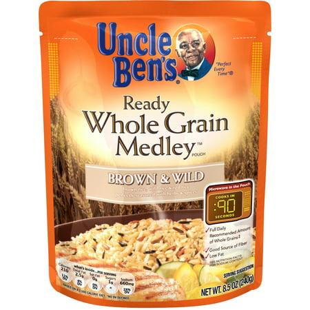 Uncle Ben's Ready Whole Grain Medley: Brown & Wild, 8.5 oz