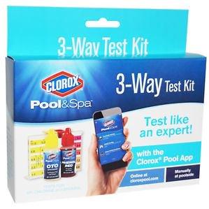 Clorox Pool&Spa 3-Way Test Kit