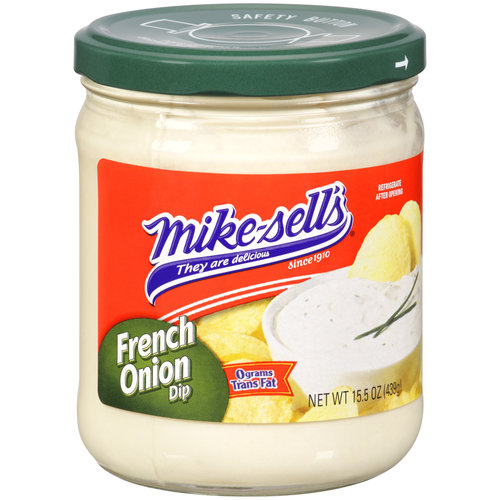 Mike-Sell's French Onion Dip, 15.5 oz