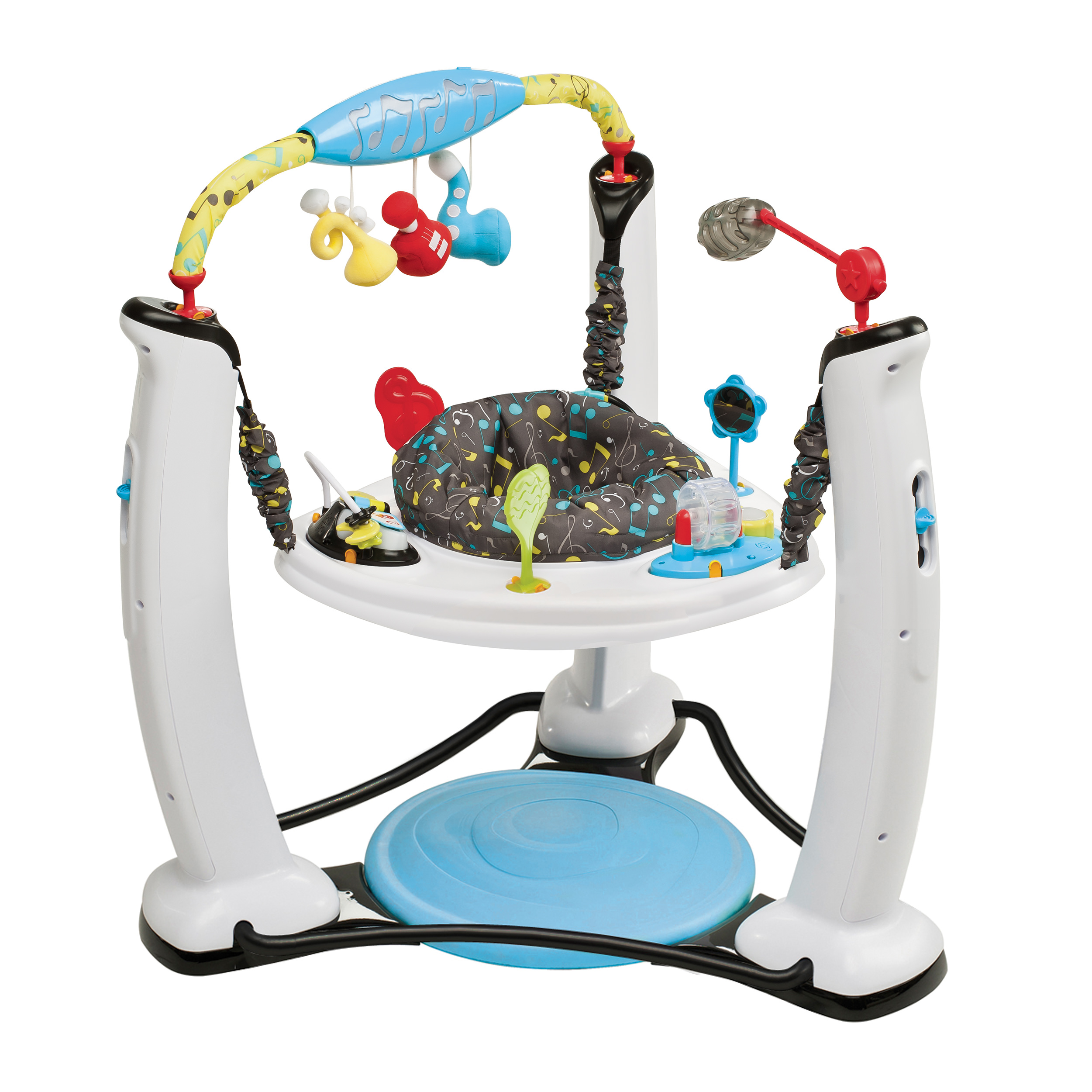 Evenflo Exersaucer Jump & Learn Stationary Jumper, Jam Session