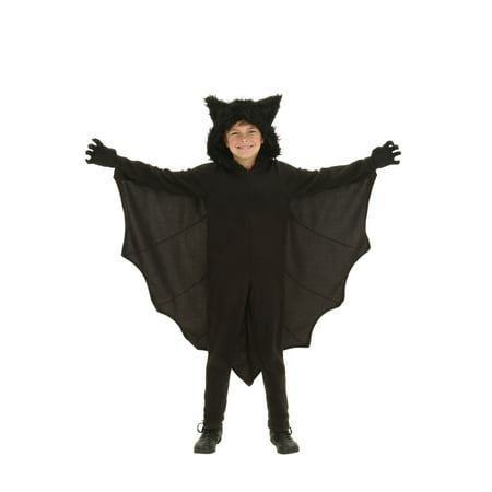 Female Bat Costume (Child Fleece Bat Costume)