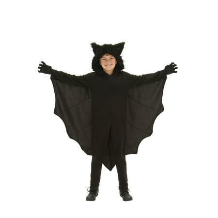 Child Fleece Bat Costume - Bat Wings Costume Kids