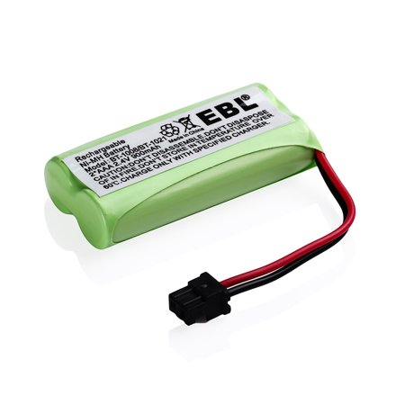 1021 Rugby - EBL 2.4V 900mAh Replacement Battery for Uniden BT-1008, BT-1008S, BT-1021, BT-1016 BBTG0645001 Cordless Home Phone
