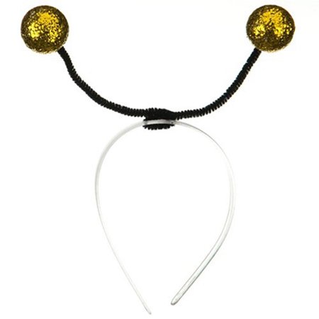 Gold Bumble Bee Antenna Headband