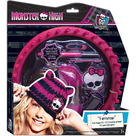 Monster High Knit Beanie Kit - Monster Customizing Kit