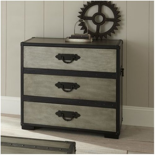 Brady Furniture Industries Travels 3 Drawer Chest