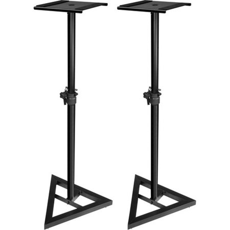 Ultimate Support JS-MS70 Studio Monitor Speaker Stand Height-Adjustable (Pair) ()