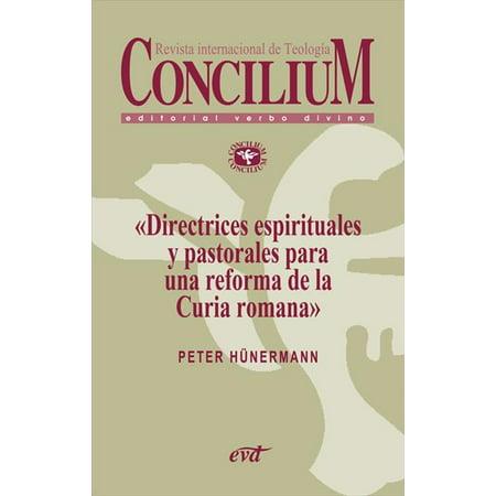 Origami De Halloween In Romana (Directrices espirituales y pastorales para una reforma de la curia romana. concilium 353 (2013) -)