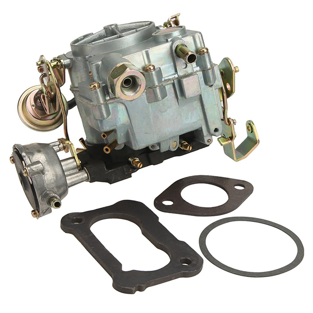 Alavente Manual Choke Carburetor Carb Type Rochester Chevy 2gc 2 Barrel Fits For Chevrolet