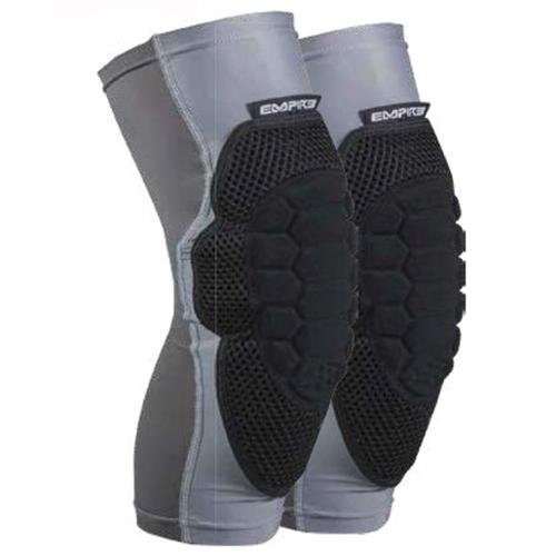 Empire Paintball NeoSkin Knee Pads F6 - Black/Silver - Youth