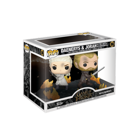 Funko POP! Moment: GoT - Daenerys & Jorah B2B w/Swords