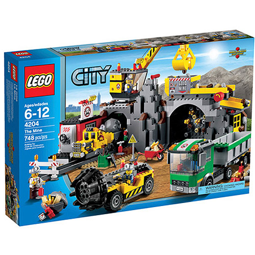 LEGO City Mining The Mine Play Set