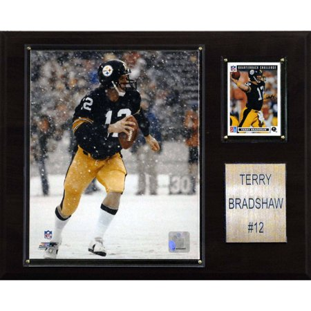 C Collectables Nfl 12X15 Terry Bradshaw Pittsburgh Steelers Player Plaque