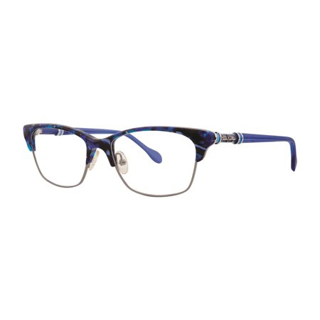 Lilly Pulitzer ASHBY Eyeglasses 50 Blue Marble