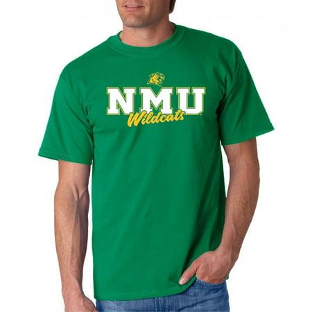 J2 Sport Northern Michigan Wildcats NCAA Campus Script T-Shirt - Walmart com