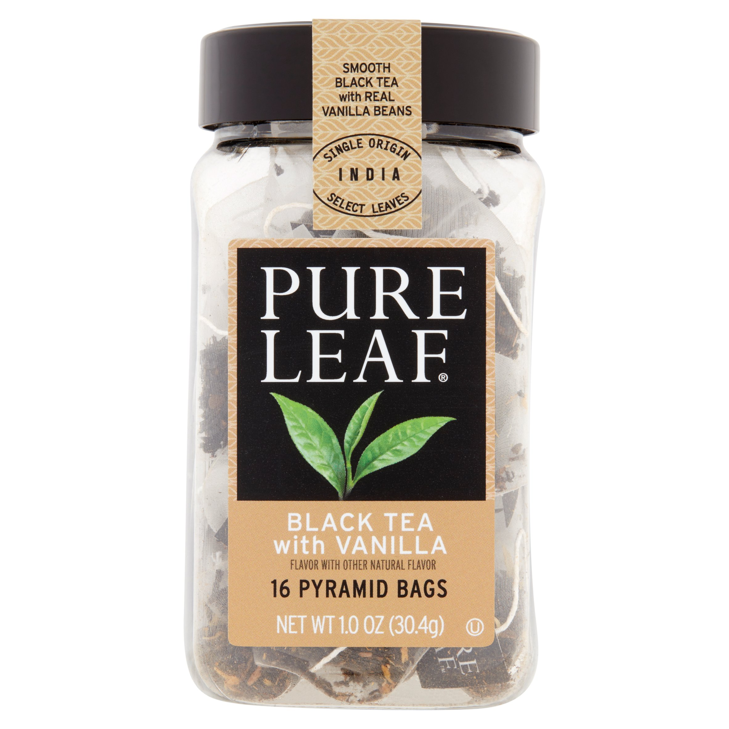 Pure Leaf Tea Bags Black Tea with Vanilla 16 ct