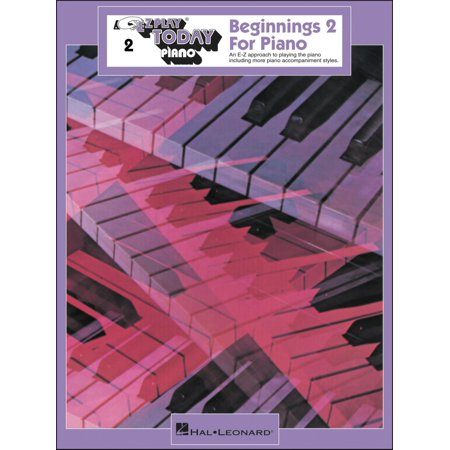 Ez Play Piano - Hal Leonard Beginnings Book 2 for Piano E-Z Play