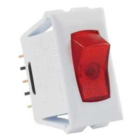 12505 12V On-Off Switch - Red-White Pack 1 - image 1 de 1