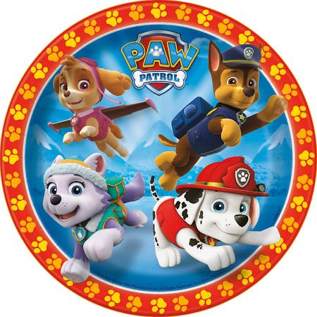 Nickelodeon Paw Patrol 8 Kid Party Serving Set Plates Cups Napkins Birthday Kit - Paw Patrol Plates And Cups