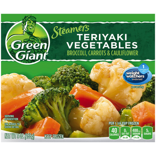 Green Giant Steamers Teriyaki Vegetables, 9 oz