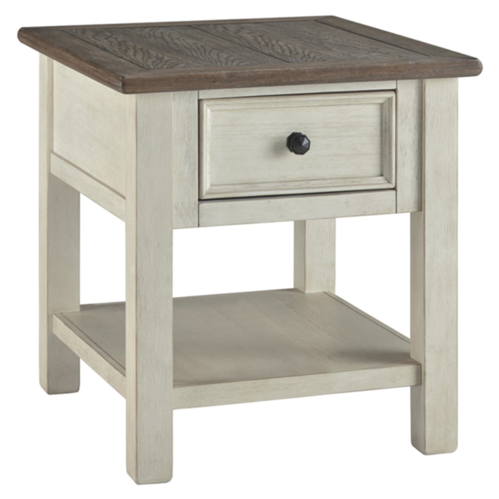 Signature Design by Ashley Bolanburg Rectangular End Table with Drawer