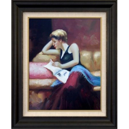 Artmasters Collection Km89622 8607Nl Day Dreaming Ii Framed Oil Painting