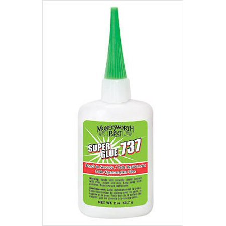 Moneysworth & Best 737 Super Glue 2 Ounce (Best Glue For Patching Jeans)